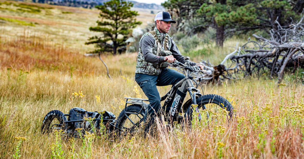 5 Electric Bikes For Hunting And Fishing
