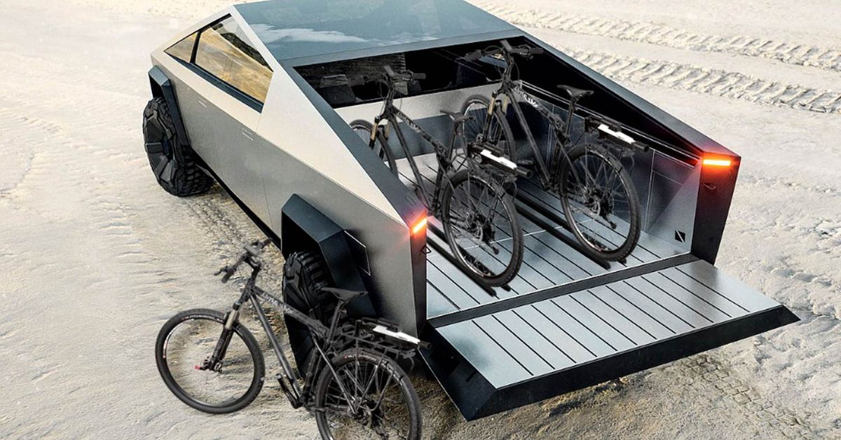 Fired Up For Tesla's Cybertruck? Then Check Out This Ebike