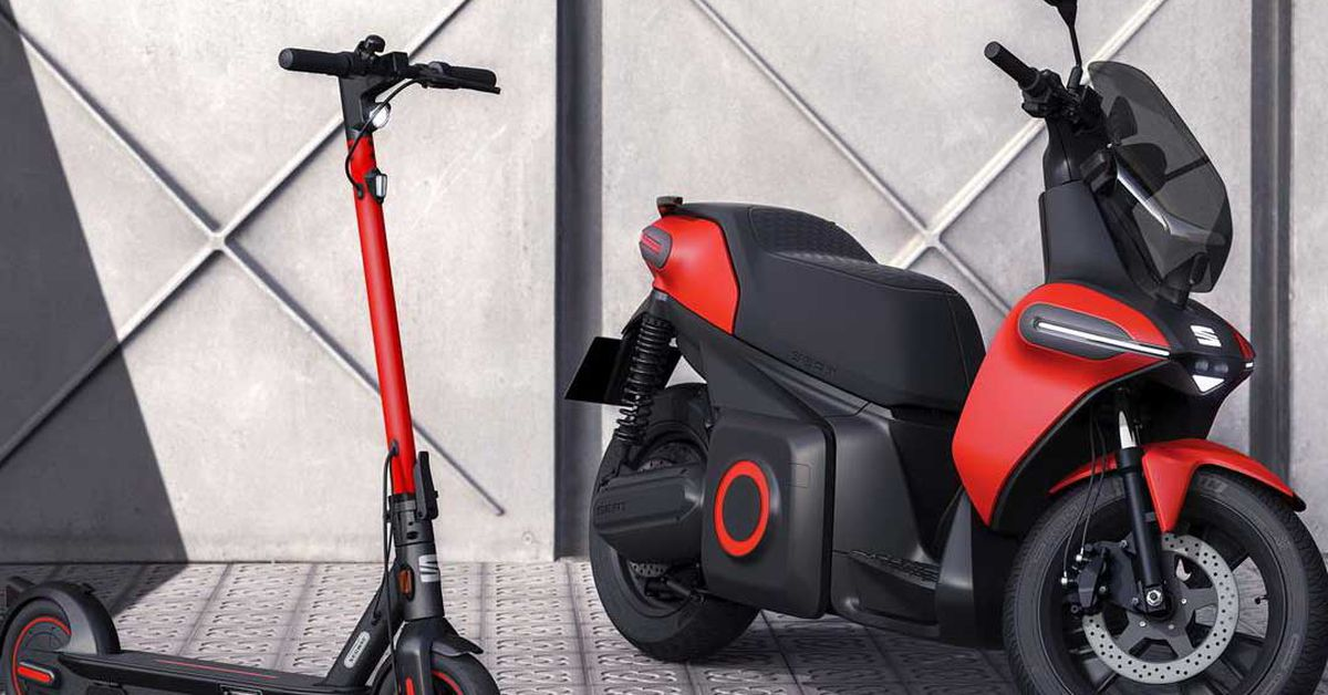 Prototype Seat Electric Scooter Unveiled