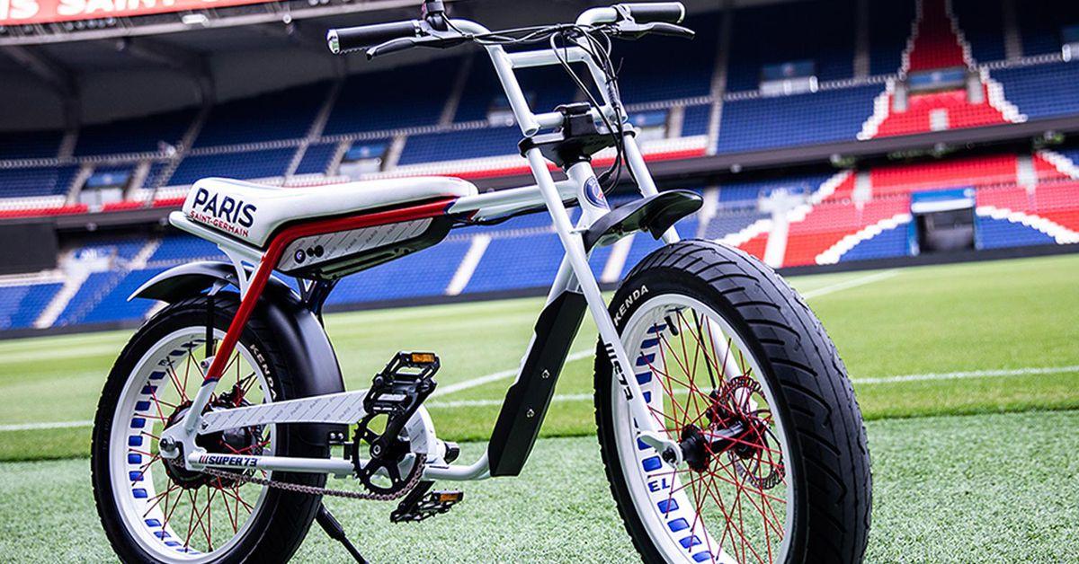 Super73 Ebike Celebrates Paris Saint-Germain Soccer Club