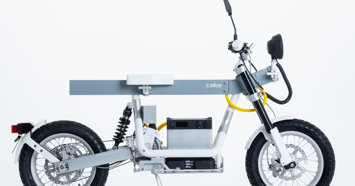 Cake Introduces Ösa Utility Electric Motorcycle