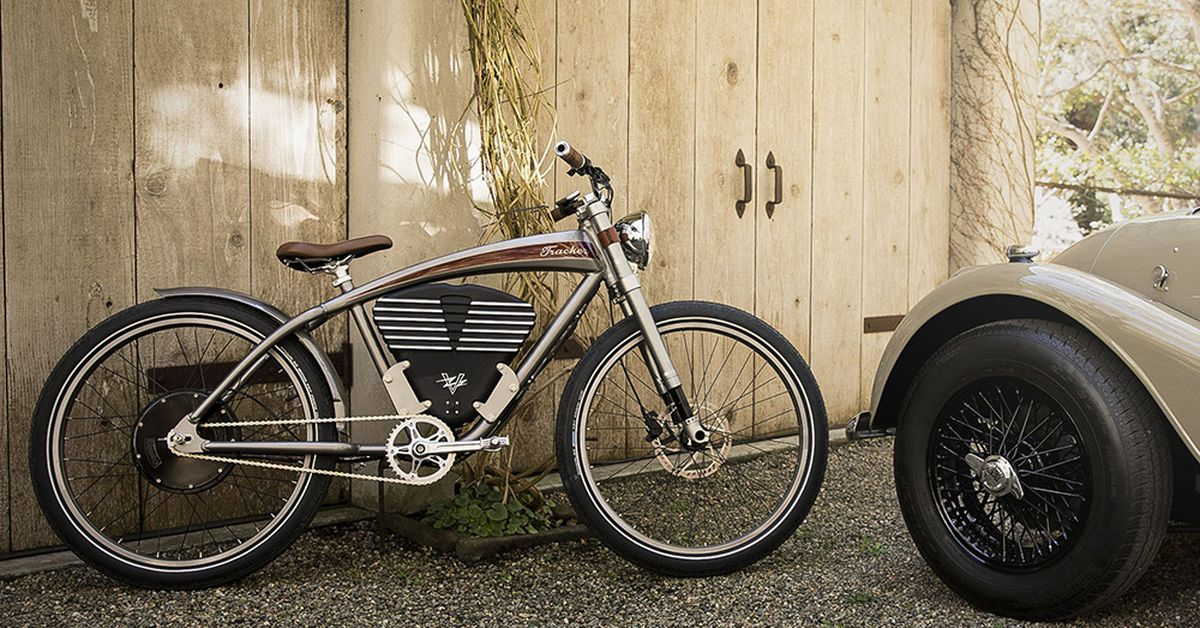 Vintage Electric Boardtrack Style Ebike